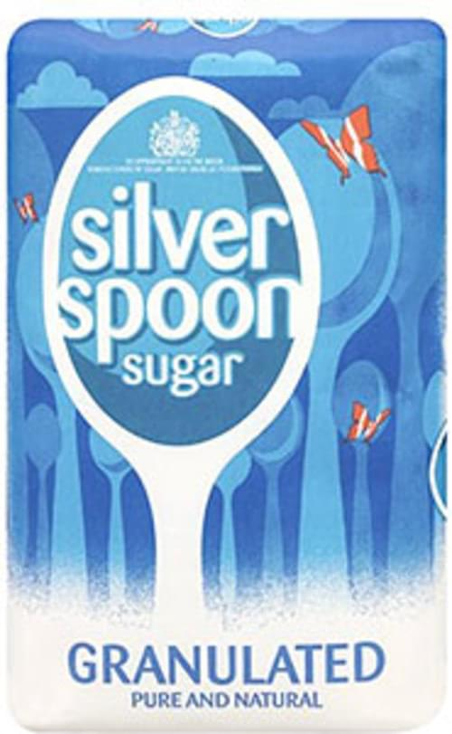 SILVER SPOON GRANULATED SUGAR 1KG BAG