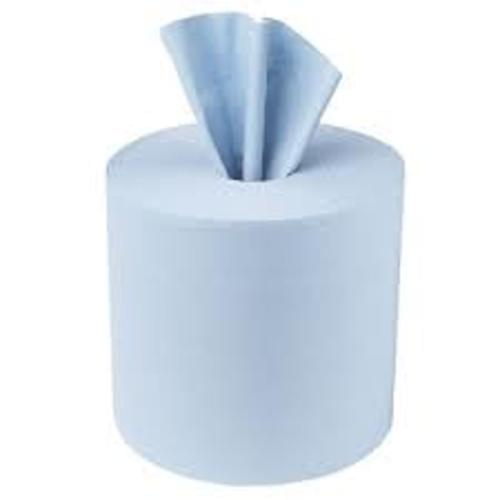 CENTREFEED ROLL 2PLY BLUE CASE OF 6