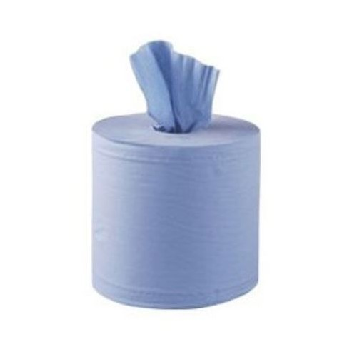SOFT BLUE CENTREPULL KITCHEN ROLLS