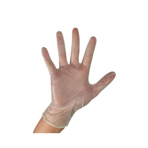 Vinyl Gloves Medium Powder Free 100 per box