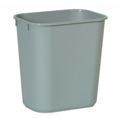 Rubbermaid Rectangular Wastebasket 12.9 L - Grey