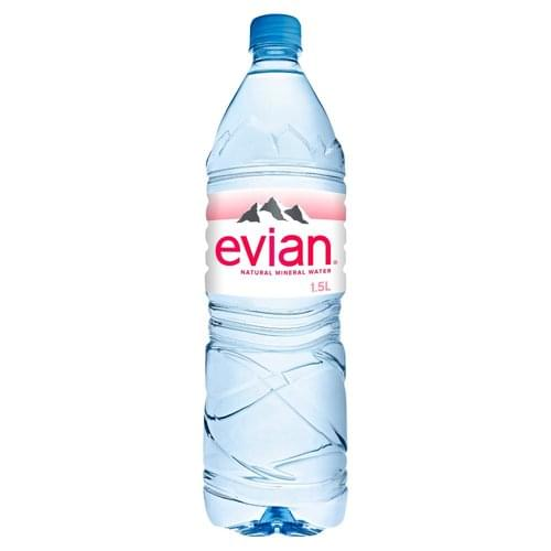 Evian Water 1.5L Bottle PK8 245763