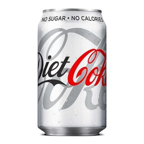 Diet Coke Cola 330ml cans ( Pack 24 )
