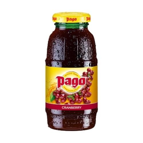 PAGO CRANBERRY JUICE 12 x 200ML