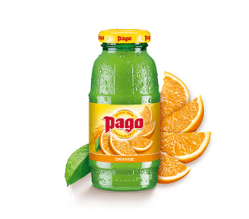 PAGO ORANGE JUICE 12 X 200ML