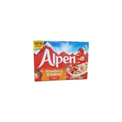Alpen Strawberry & Yogurt 5 Pack