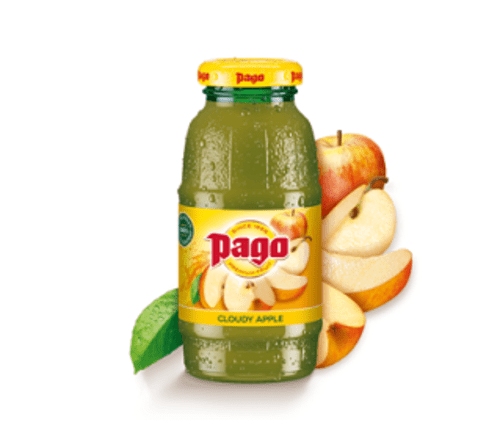 PAGO CLOUDY APPLE JUICE 24 X 200ML