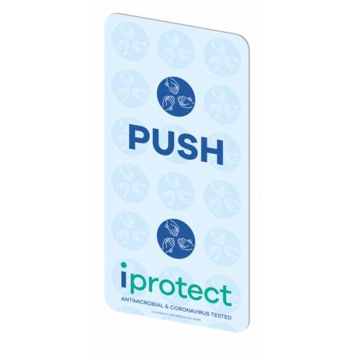 iprotect Push Pad 200mm (h) x 100mm (w)