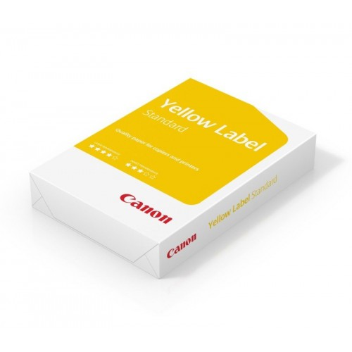 Economy Canon A4 Yellow Label 80gsm White Office Paper