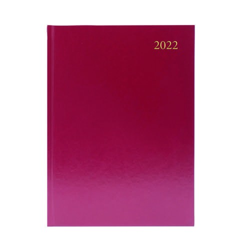 1 Day per Page Appt. 1/2 hourly (A4/A5) Blue, Burgundy or Black
