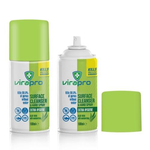 Virapro Surface Cleanser & Hand Spray 100ml