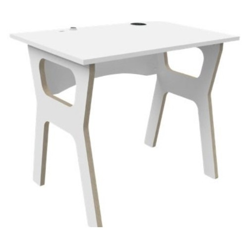WFH04 Homeworking Desk - White