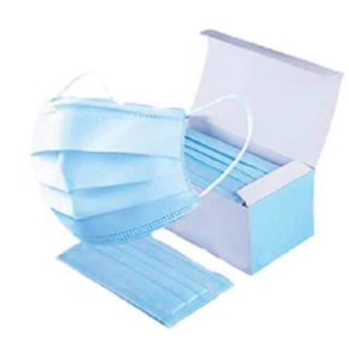 Disposable Medical Mask 3ply Type IIR Box 50