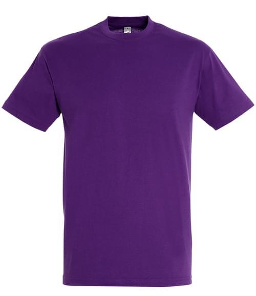 SOLS Regent T-Shirt Dark purple Size XXL
