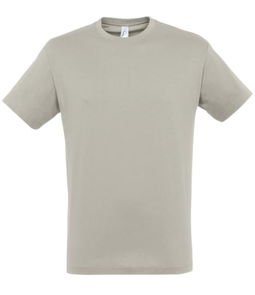 SOLS Regent T-Shirt Light Grey Size XL