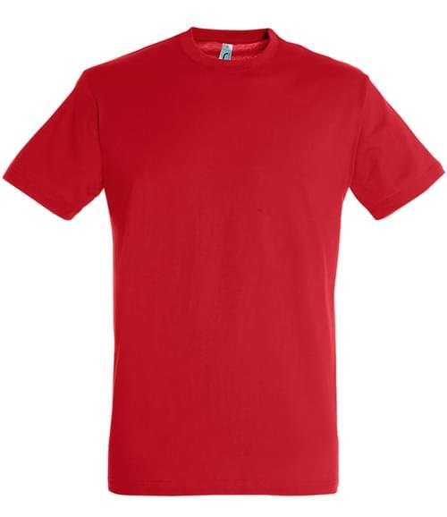 SOLS Regent T-Shirt Red Size 3XL