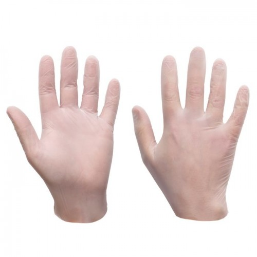 Supertouch Ultra Nitrile Powder Free Gloves Clear Large