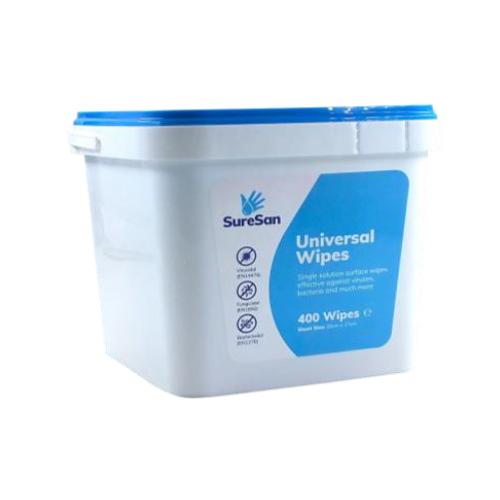 SURESAN UNIVERSAL WIPE (TUB 400)