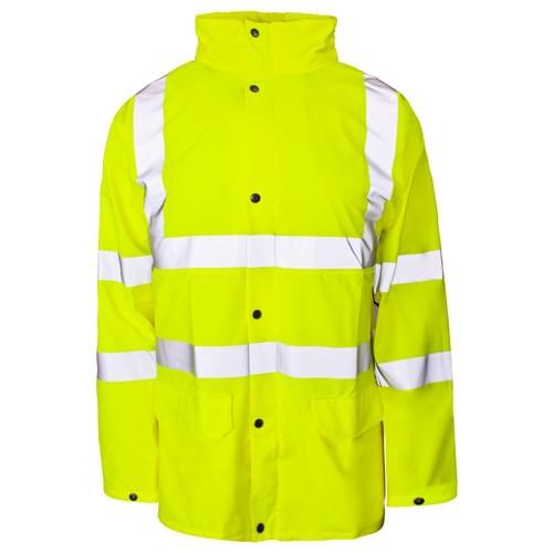 Stormflex HV PU Jacket Breathable Yellow - S