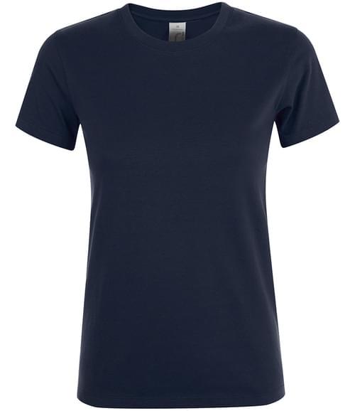 SOLS Lds Regent T-Shirt Navy Size M