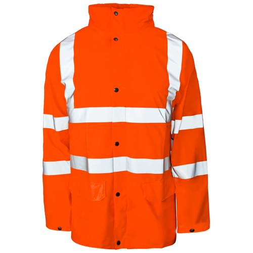 Stormflex HV PU Jacket Breathable Orange-S