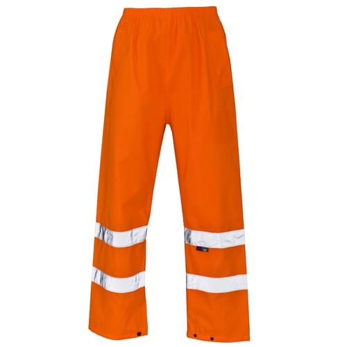 HV Overtrousers 300D Oxford PU Orange Ankle band 2XL 20pieces