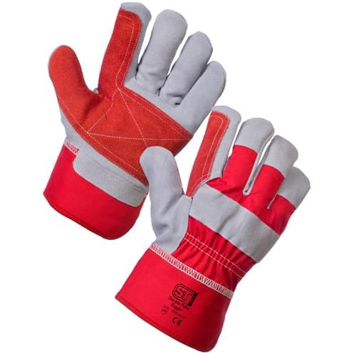Double Palm Rigger - Red - 12x10