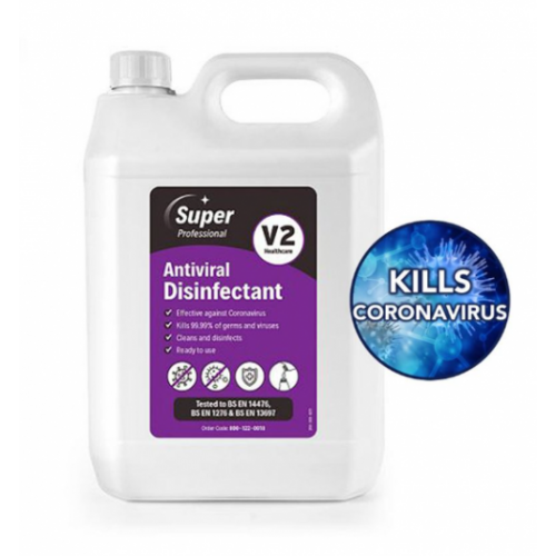 Super Pro Antiviral Disinfectant Refill  5L  Pack 2