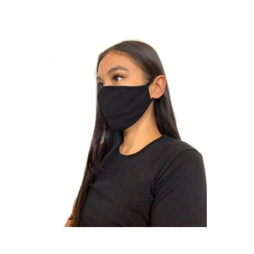 Next Level Eco Performance Face Mask Black pack 48