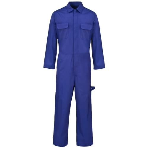 Poly Cotton Coverall Royal Blue 210gms- L