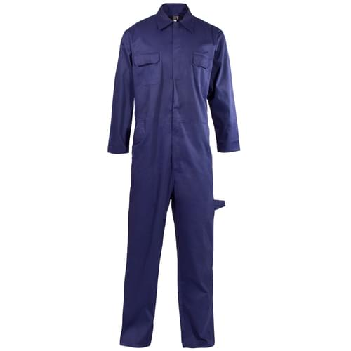 Poly Cotton Coverall Navy Blue 210gms- L
