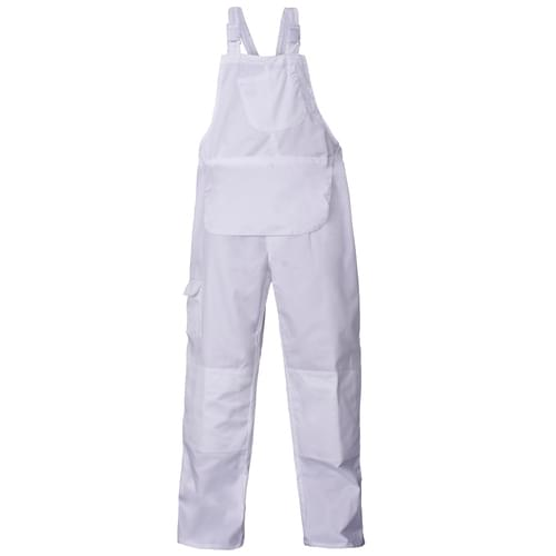 Painters Basic B&B Trouser Regular - White - Poly/Cott - 65/35 - 245 Gsm - 4XL