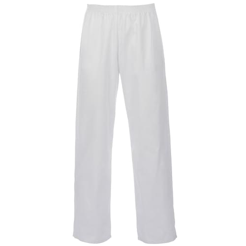 Polycotton Food Trousers - White - 2Xlarge