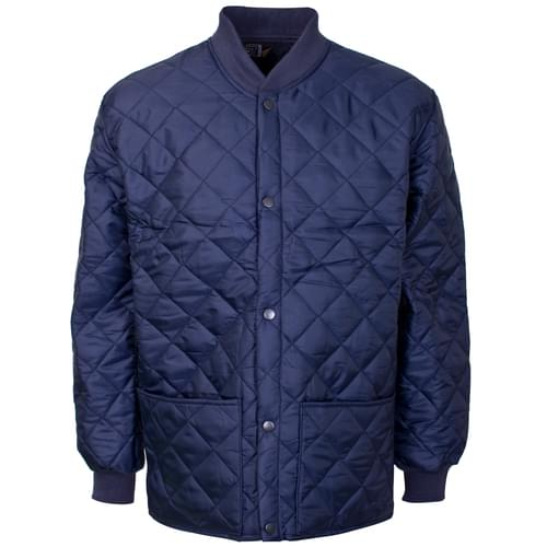Quilted Shell Jacket - Navy Blue - 2Xlarge