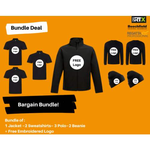 8 Piece Workwear Bargain Bundle Deal