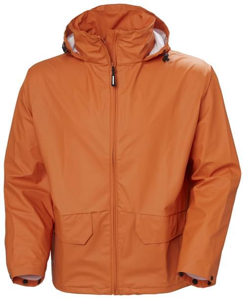 Helly Hansen Workwear VOSS JACKET 290 DARK ORANGE Size 3XL
