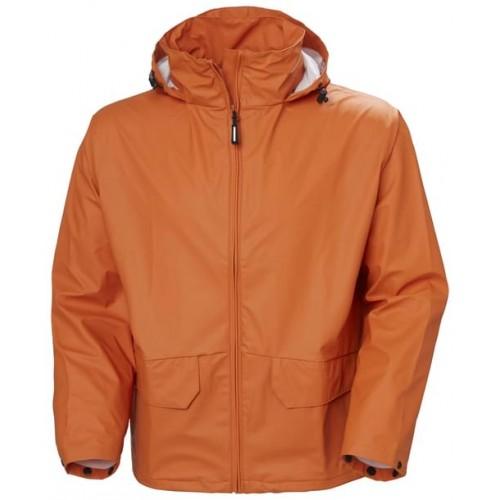 Helly Hansen Workwear VOSS JACKET 290 DARK ORANGE Size XS