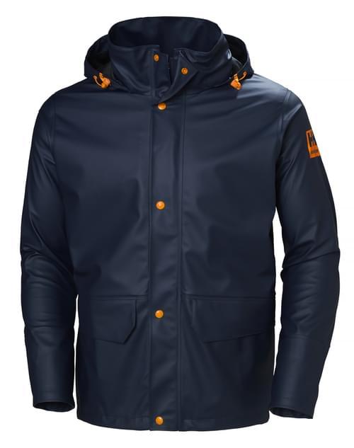 Helly Hansen Workwear GALE RAIN JACKET 590 NAVY Size 3XL