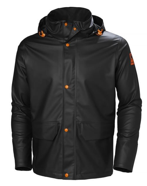 Helly Hansen Workwear GALE RAIN JACKET 990 BLACK Size L