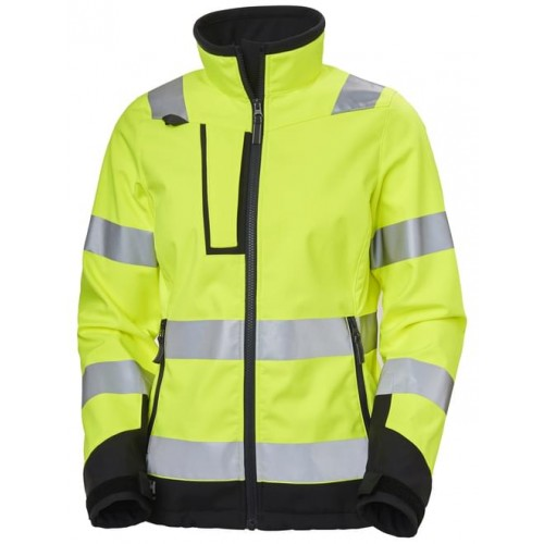 Helly Hansen Workwear W LUNA HI VIS SOFTSHELL JACKET 369