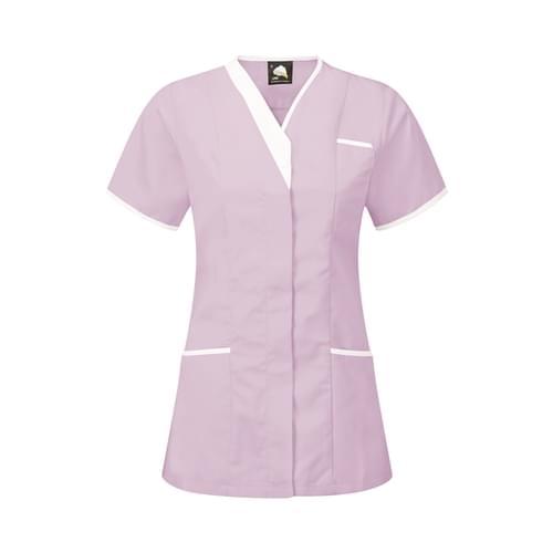 Orn Tonia V-Neck Tunic Lilac / White Size 20