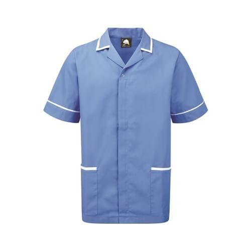 Orn Darwin Male Tunic Hospital Blue / White Size S