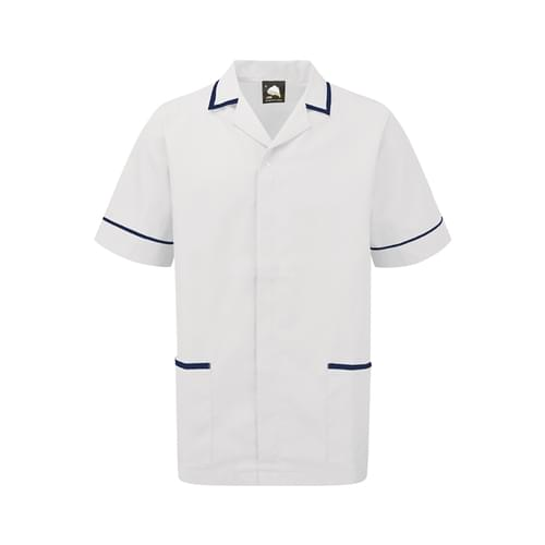 Orn Darwin Male Tunic White / Navy Size 3XL