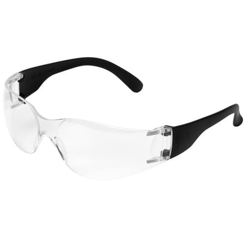 E10 Safety Glasses  Basic  Clear x 12 Pcs