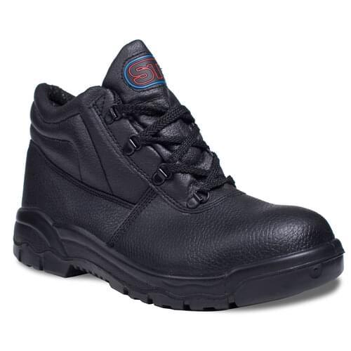 Chukka Boot Buf Bla st/m Size 3 - Pair(s)