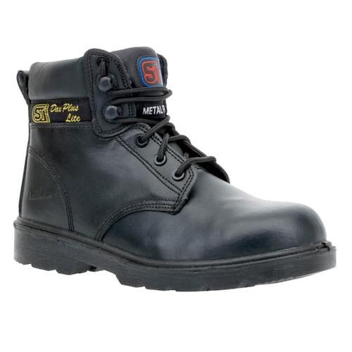Dax Plus Lite Boot -Size 13 S1P Metal Free  Black leather Comp toe & Kevla sole