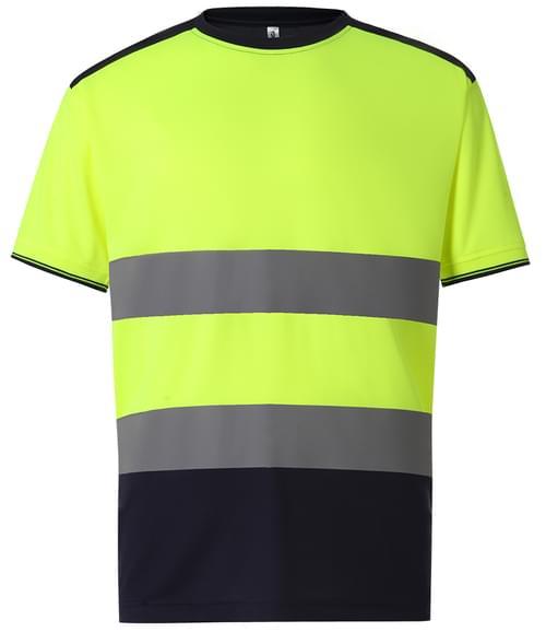 Yoko Two Tone T-Shirt Yellow/navy Size XXL