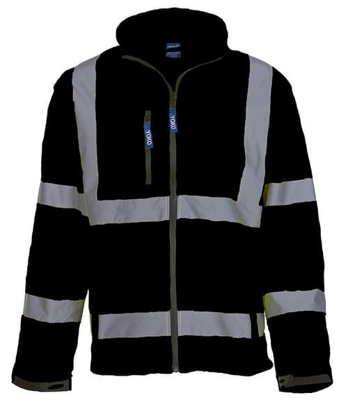 Yoko Softshell Jacket Black Size 4XL