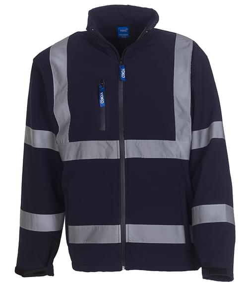 Yoko Softshell Jacket Navy Size 4XL