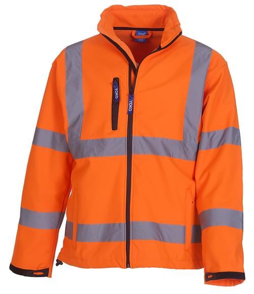 Yoko Softshell Jacket Orange Size L